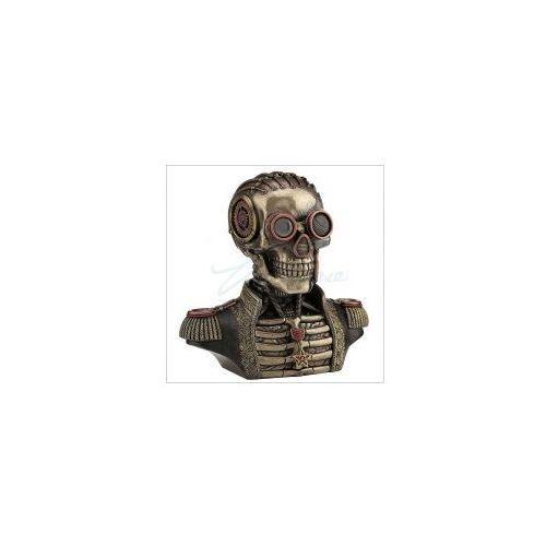 Veronese Steampunk szkatułka popiersie mundurowego (wu76884a4)