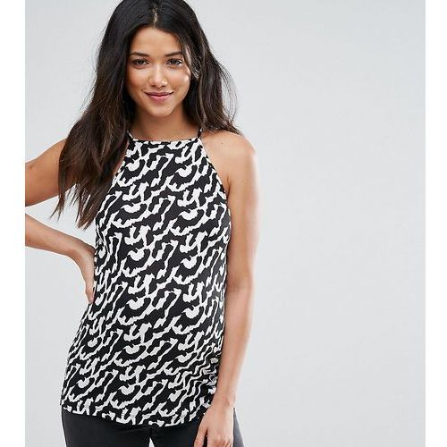 cami with square neck in abstract animal print - multi, Asos maternity