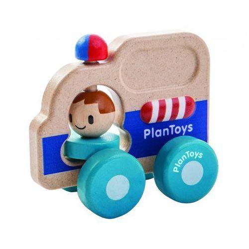 Drewniany pojazd pomoc drogowa, Plan Toys PLTO-5686 (8854740056863)