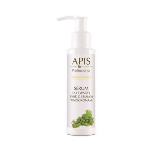 vitamin balance serum do twarzy z witaminą c i białymi winogronami (51395) marki Apis