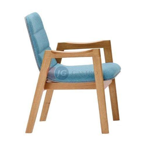 Krzesło z podłokietnikiem Dąb Paged M-DUBd