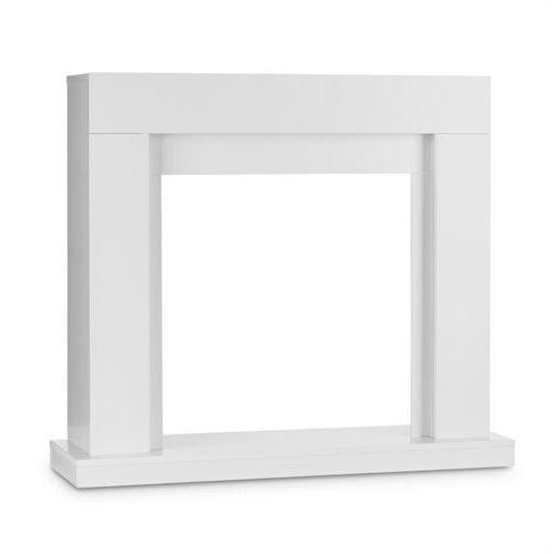 Klarstein studio frame, obudowa kominka z tworzywa, mdf, styl nowoczesny, biały (4260509683326)