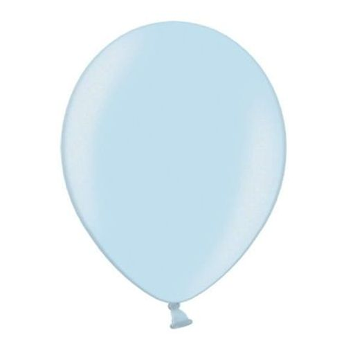 """Party world Balony 12"""" strong, błękitne, baby blue, metaliczne 100 szt."""