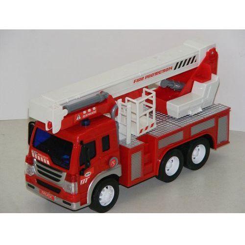 Duża straż pożarna z ruchomymi elementami i dźwiękiem 1:16 błyskawiczna wysyłka! 24h! marki Gazelo toys