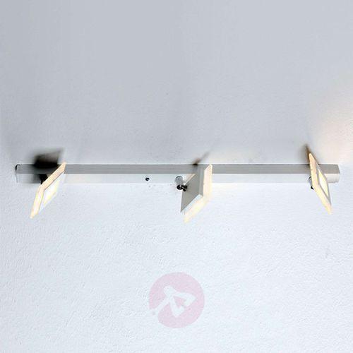Bopp line lampa sufitowa aluminium, 3-punktowe