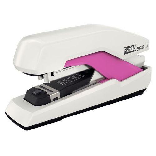 Zszywacz  supreme omnipress so30c 50-51 biało-różowy marki Rapid
