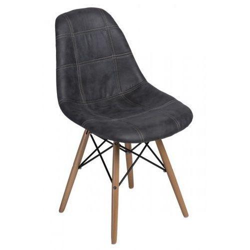 Krzesło P016W Pico jasne drewniane nogi (grafitowe) D2, d2-5020