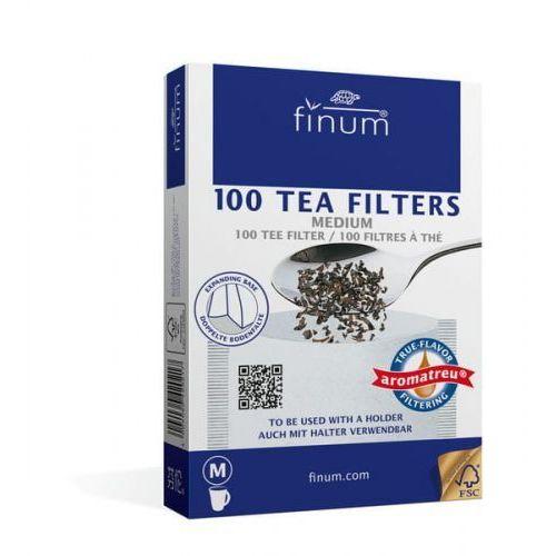 Finum filtry do herbaty m 100 szt. (4004060420217)
