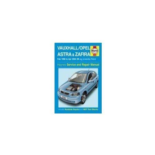Vauxhall/Opel Astra & Zafira Petrol Service and Repair Manual (9780857339706)