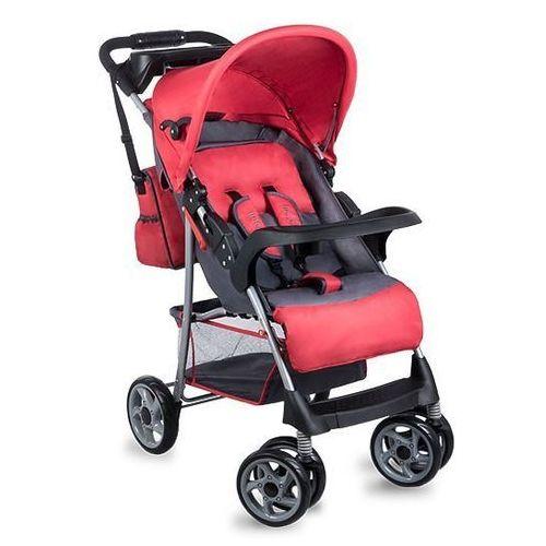 Wózek spacerowy Emma Plus red/grey - DARMOWA DOSTAWA!!! (5902581652386). Najniższe ceny, najlepsze promocje w sklepach, opinie.