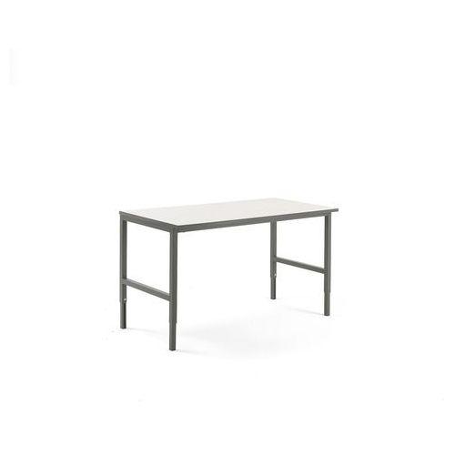Stół roboczy CARGO, 1600x750 mm, biały, szary, 202039