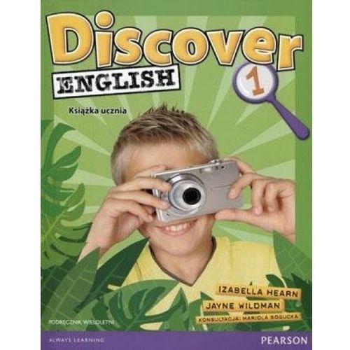 Discover English 1. Podręcznik Wieloletni + MP3 (opr. miękka)