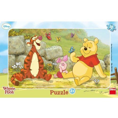 Puzzle 15 Ramkowe Kubuś Puchatek DINO, towar z kategorii: Puzzle