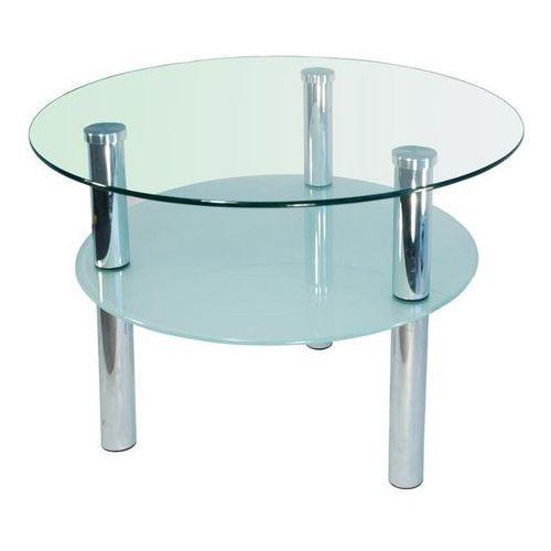 Szkłomal KOŁO II - Stolik szklany, średnica 60 cm