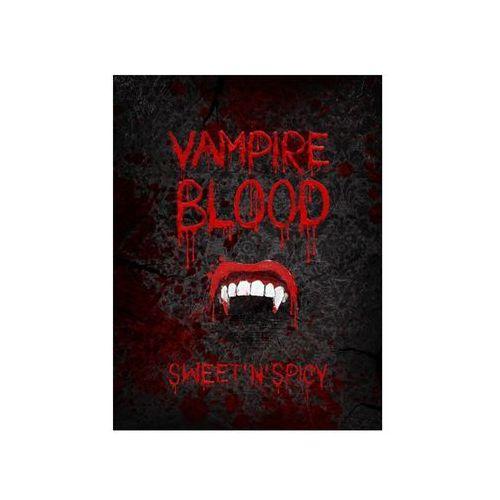 Party deco Etykieta na butelkę vampire blood na halloween - 10 szt. p