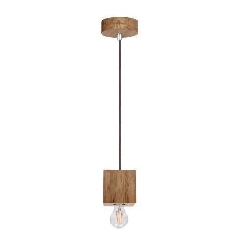 Lampa oprawa wisząca Spot Light 1x60W E27 dąb olejowany/antracyt 7061174