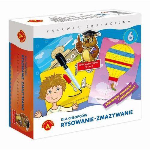 Zabawka rysowanie-zmazywanie dla chłopców marki Alexander