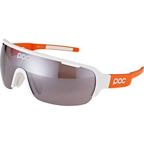 Poc do half blade avip okulary rowerowe pomarańczowy/biały 2018 okulary sportowe