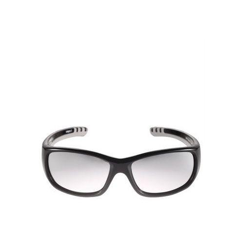 Okulary przeciwsłoneczne Reima Sereno 4-8 lat UV400 czarne - czarny, kolor żółty