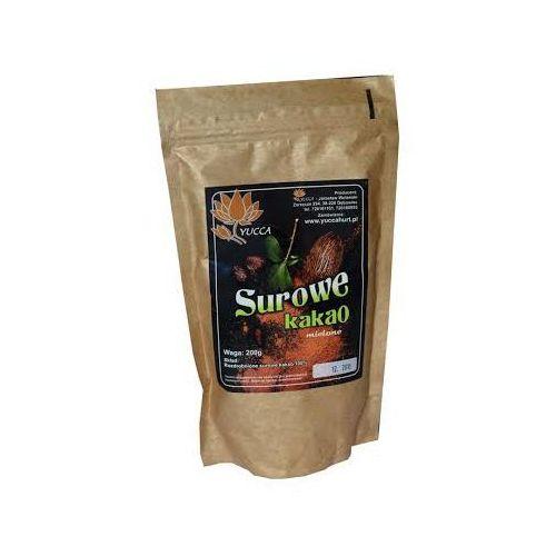 Surowe kakao mielone 200g - Yucca (5902687150212)