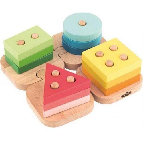 Woody puzzle-kształty na podkładce do układania (8591864918409)
