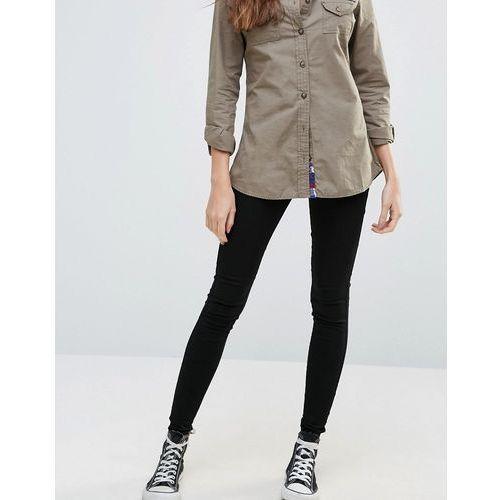 Brave Soul Skinny Jeans - Black, jeans