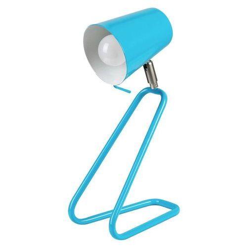 Stojąca lampa stołowa olaf 5778 dziecięca lampka biurkowa metalowa niebieski marki Rabalux