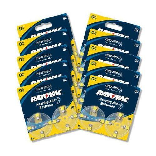 baterie do aparatu słuchowego typ 10 (80 szt.) - produkt w magazynie - szybka wysyłka! marki Rayovac