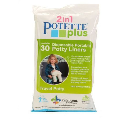 30 Jednorazowych Wkładów do Nocnika Potette Plus