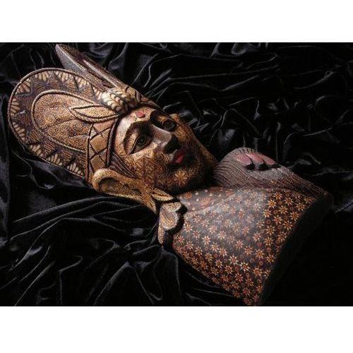 Wyspa bali Olśniewający prezent rzeźba maska wspaniałej bogini