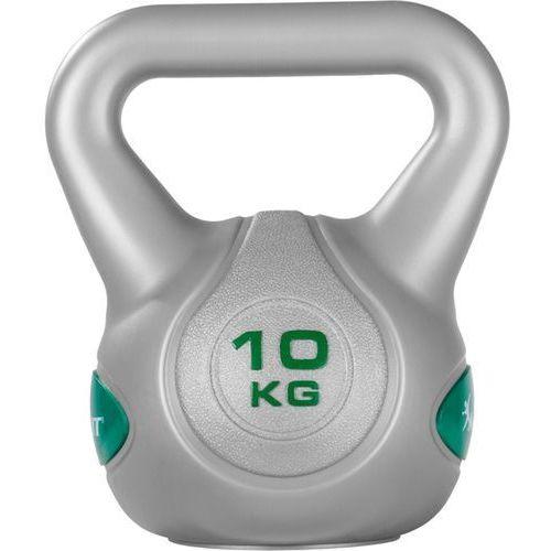 Srebrna hantla kompozytowa kula kettlebell ketla 10kg - 10 kg marki Movit ®