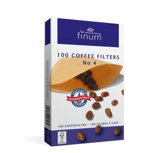 Finum filtry do kawy nr 4 100 szt. (4004060423164)