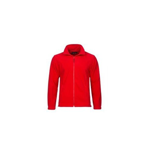 Valento Polar męski w kolorze czerwonym bluza polarowa 300g