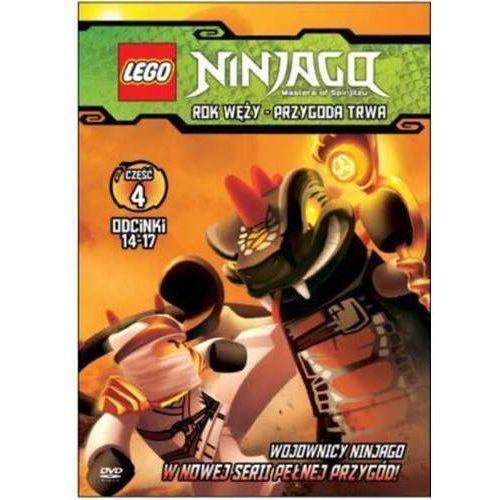 Galapagos films Lego ninjago. rok węży. przygoda trwa, część 4 7321997610069
