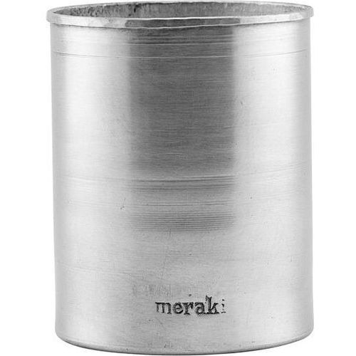 Kubek na szczoteczki meraki srebrny (5707644713604)
