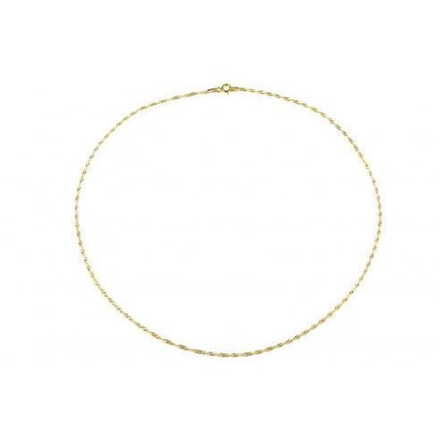 Biżuteria damska ze złota PR.585 14 Karat SAXO Łańcuszek złoty ZL.A.233.01, kolor żółty
