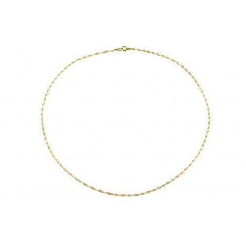Saxo Biżuteria damska ze złota pr.585 14 karat łańcuszek złoty zl.a.233.01