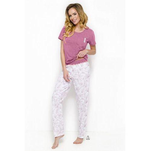 Piżama Damska Model Ola 2231 AW/18 K1 Pink, kolor różowy