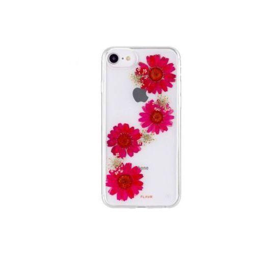 Etui FLAVR iPlate Real Flower Paula do Apple iPhone 6/6s/7/8 Czerwony (31456), kolor czerwony