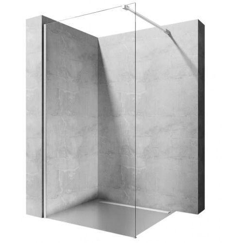 Rea Aero ścianka prysznicowa 80 cm stała szkło przezroczyste REA-K7552, REA-K7552