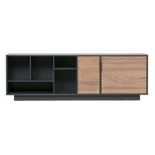 Woood Komoda James dresser drewniana czarna 373840-Z, 373840-Z