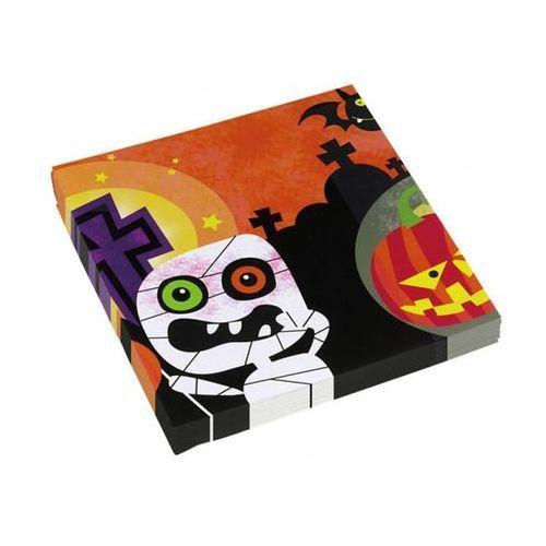 Serwetki na halloween dla dzieci - 33 cm - 20 szt. marki Amscan