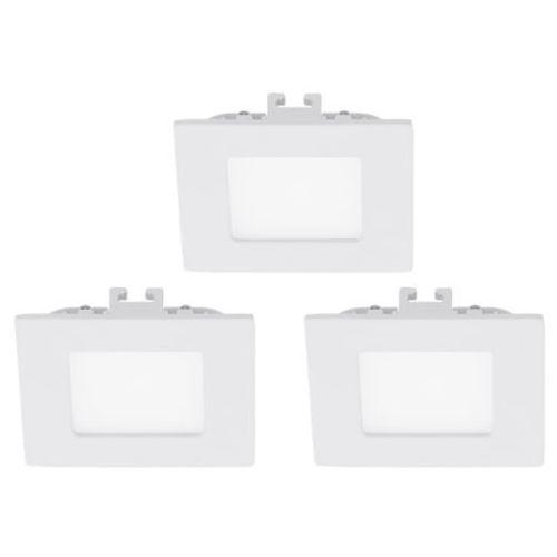 zestaw 3 opraw sufitowych 3x2,7W FUEVA 1 8,5 cm - białe PROMOCJA!, EGLO 94733