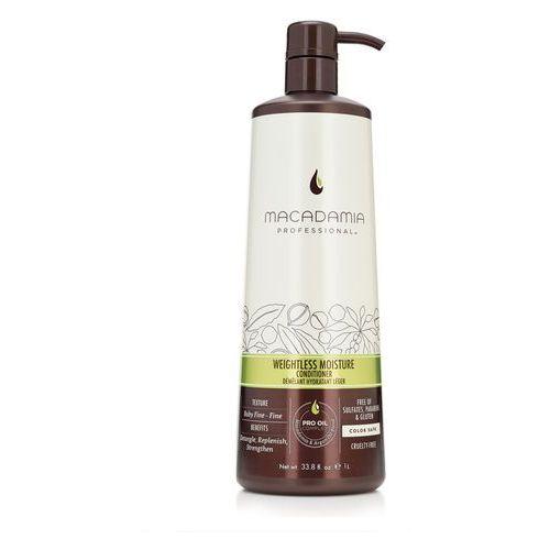 Macadamia  weightless moisture - nawilżająca odżywka do włosów cienkich 1000ml