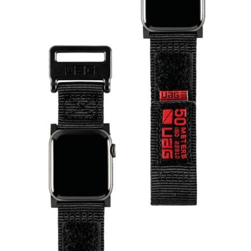Urban armor gear uag active strap materiałowy pasek do apple watch 44 mm / 42 mm (black)