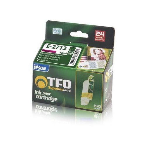 Tusz TFO E-2713 (T2713, Ma) 18ml do Epson WorkForce 3620DWF, WorkForce 7620DTWF, T_0013542