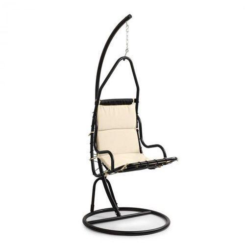 Blumfeldt Serramazzoni EggChair, Fotel wiszący poduszka na siedzisko, kremowy