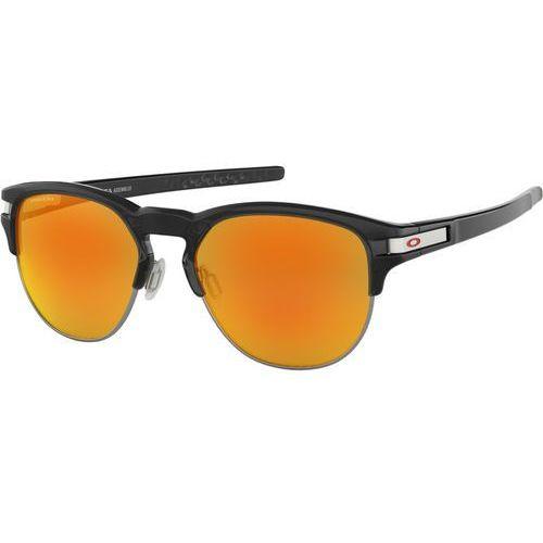 Oakley Latch Key L Okulary rowerowe pomarańczowy/czarny 2018 Okulary przeciwsłoneczne