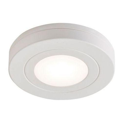 Oświetlenie meblowe led caldwell okrągłe 4000 k na baterie white marki Colours