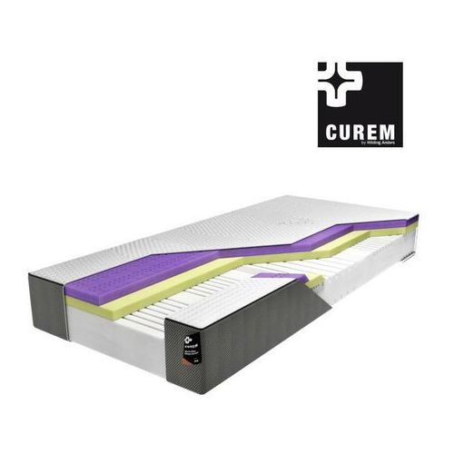 Curem.log – materac piankowy, rozmiar - 90x200, twardość - twardy wyprzedaż, wysyłka gratis, 603-671-572 marki Curem by hilding